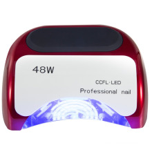 48W slide nail art phototherapy lamp/ Professional nail CCFL+LED